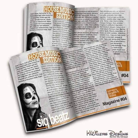 Magazine Mock-up - Style 04