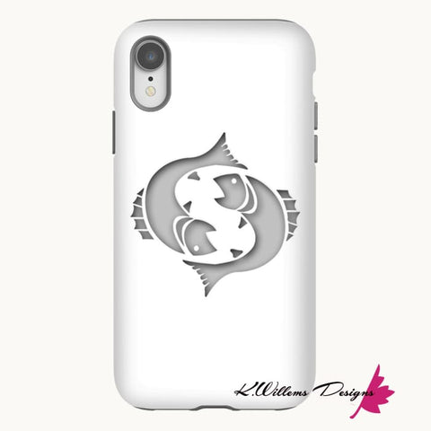 Image of Pisces Phone Cases - iPhone XR / Premium Glossy Tough Case
