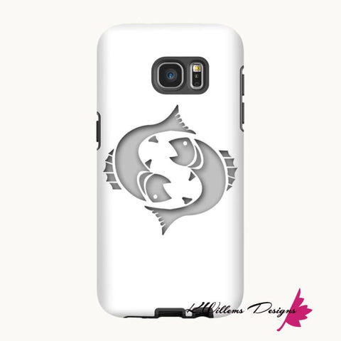Image of Pisces Phone Cases - Samsung Galaxy S7 Edge / Premium Glossy Tough Case