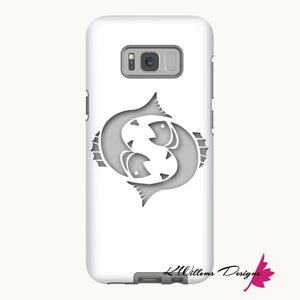 Pisces Phone Cases - Samsung Galaxy S8 / Premium Glossy Tough Case