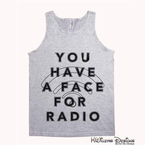 Image of Radio Face Alstyle Unisex Tank - Athletic Heather / Small (S)
