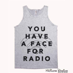 Radio Face Alstyle Unisex Tank - Athletic Heather / Small (S)