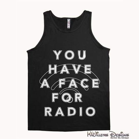 Image of Radio Face Alstyle Unisex Tank - Black / Small (S)