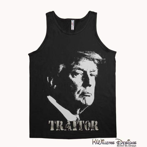 Image of Traitor 45 Alstyle Unisex Tank - Black / Small (S)