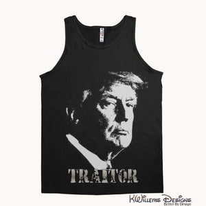 Traitor 45 Alstyle Unisex Tank - Black / Small (S)