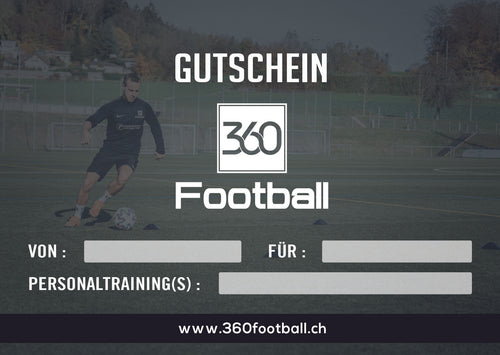 360Football Personaltraining Gutschein