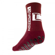 Bordeaux Tapedesign Socken