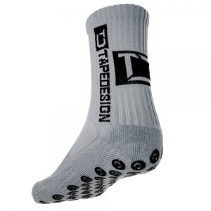 Graue Tapedesign Socken