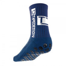 Türkisfarbene Tapedesign Socken