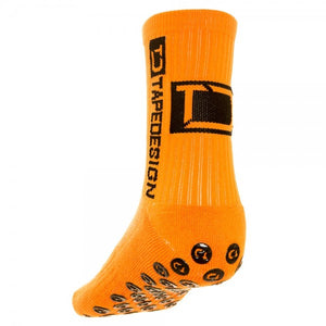 Orange Tapedesign Socken