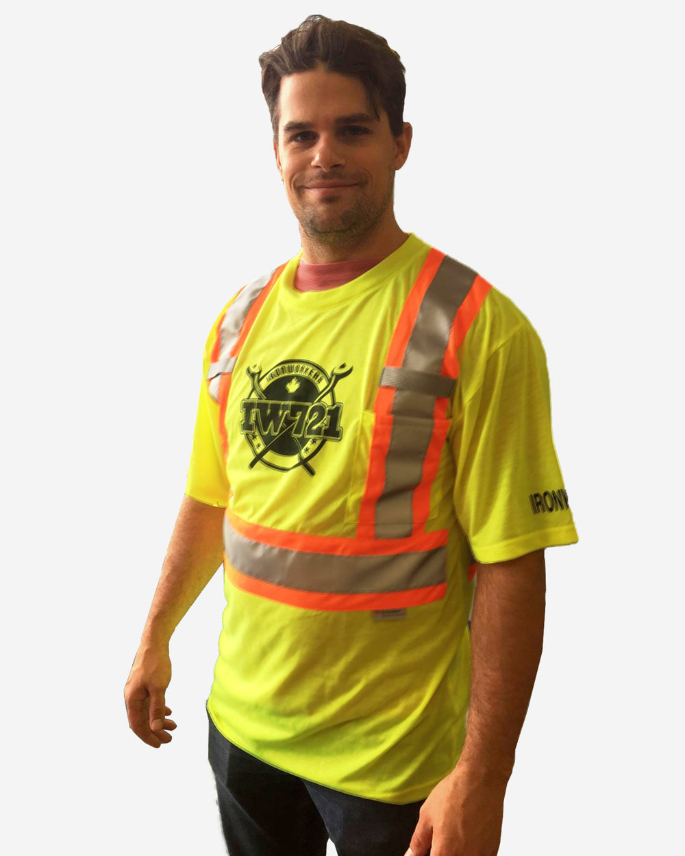 Short Sleeve Safety Tee- Lime Only