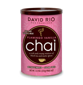SUGAR FREE DECAF FLAMINGO VANILLA CHAI 12OZ