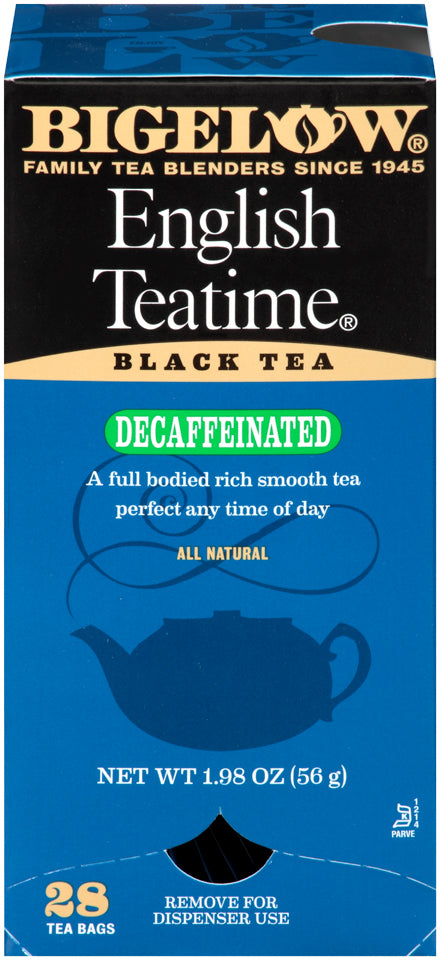 ENGLISH TEATIME BLACK TEA - DECAFFEINATED