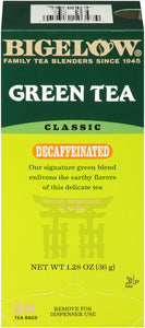 GREEN TEA CLASSIC - DECAFFEINATED