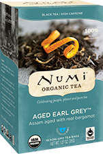 NUMI AGED EARL GREY BLACK TEA