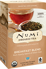 NUMI BREAKFAST BLEND BLACK TEA