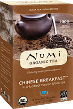NUMI CHINESE BREAKFAST BLACK TEA