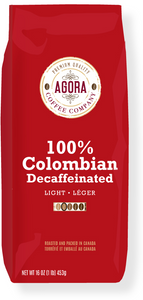 100% COLUMBIAN DECAF CO2 PROCESSED
