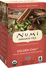 NUMI GOLDEN CHAI BLACK TEA