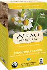 NUMI CHAMOMILE LEMON HERBAL