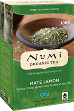 NUMI MATE LEMON GREEN TEA