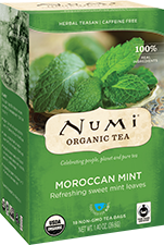 NUMI MORROCAN MINT HERBAL
