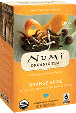 NUMI ORANGE SPICE WHITE TEA