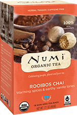 NUMI ROOIBOS CHAI HERBAL