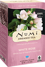 NUMI WHITE ROSE WHITE TEA