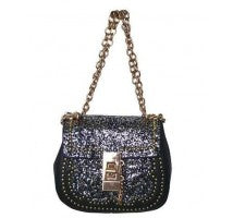 Silver Glitter Fashion Handbag