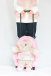 Ballerina Bear Rolling Backpack - My Berry Bow