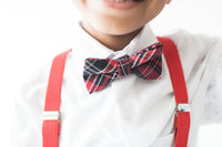 Bowtie, Hat, & Suspenders Set - My Berry Bow