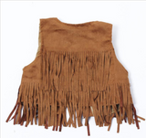 Fringe Vest - My Berry Bow
