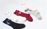 Girls Bow Socks - My Berry Bow