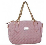 Pink Knitted Mini Handbag - My Berry Bow