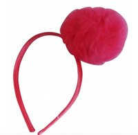 Pompom Headband - My Berry Bow