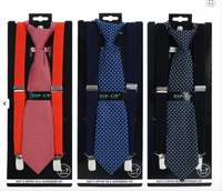 Boys Tie and Suspenders Set - My Berry Bow