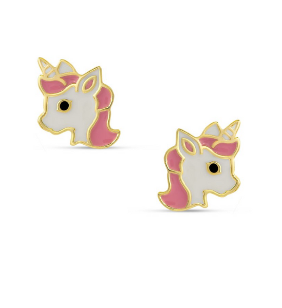Unicorn Stud Earrings - My Berry Bow