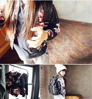 Floral Bomber Jacket - My Berry Bow