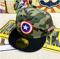 Captain America Army Fatigue Cap - My Berry Bow