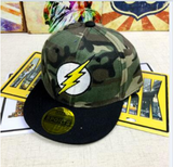 Lightning Bolt Army Fatigue Cap - My Berry Bow