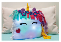 Goldie Blox DIY Unicorn Night Light Pillow