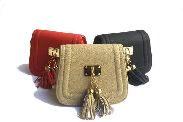 Tassle Handbag - My Berry Bow