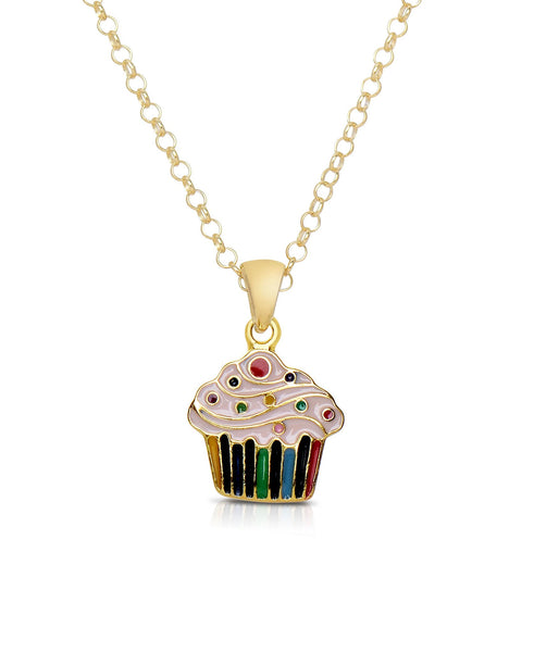 Cupcake Pendant - My Berry Bow