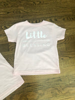 Pink 'Little Blessing' Toddler Shirt