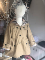 Girls Trench Coat