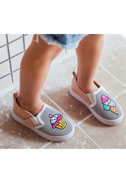 Cupcake Ice cream Slip On Shoe