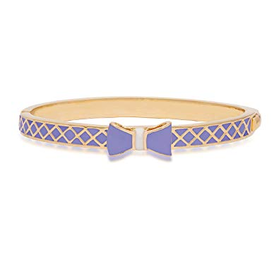 Purple Bow Bangle