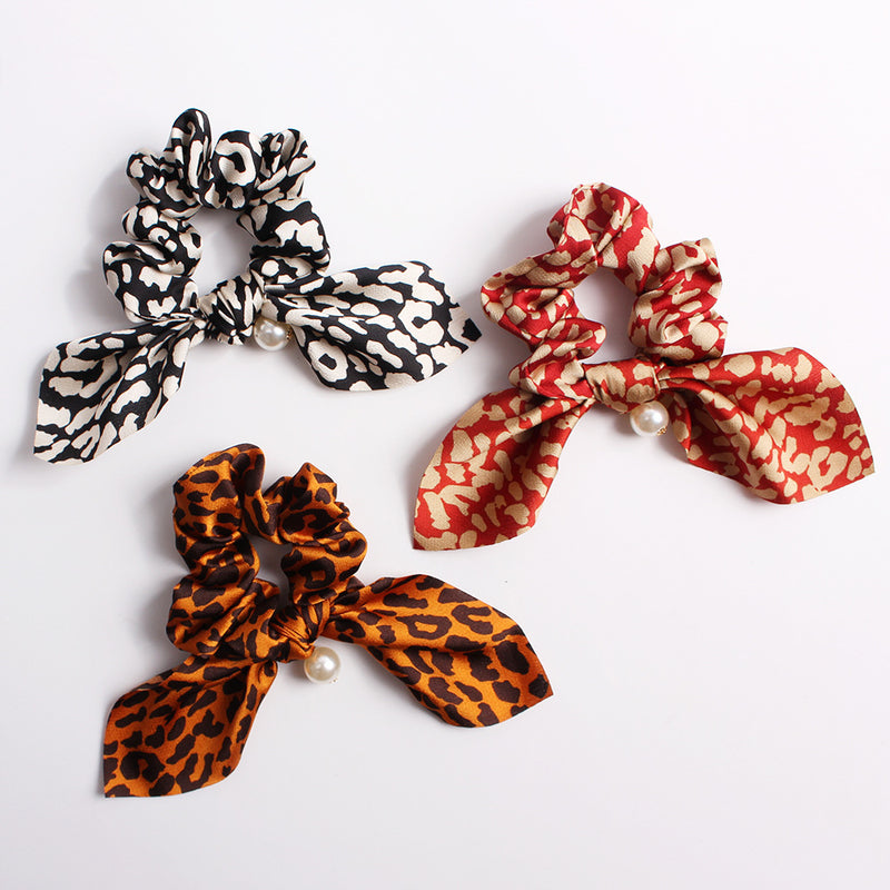 Satin Scrunchie Set of 3 - Knotted Set of 3