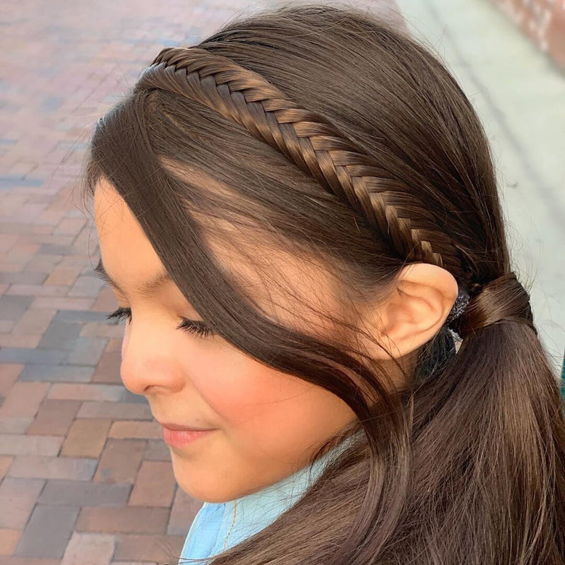 Arisa Fishtail for Kids - Brunette